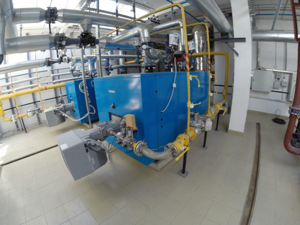 Газоснабжение энергоцентра бассейна «Атлантика»