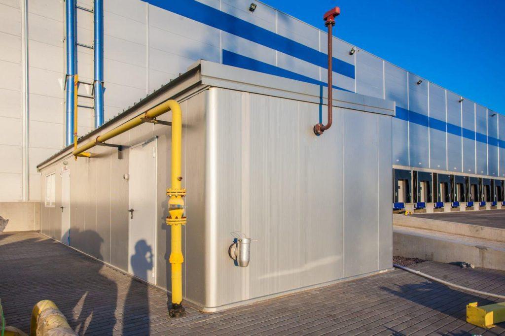 Газоснабжение логистического складского комплекса PNK-КАД