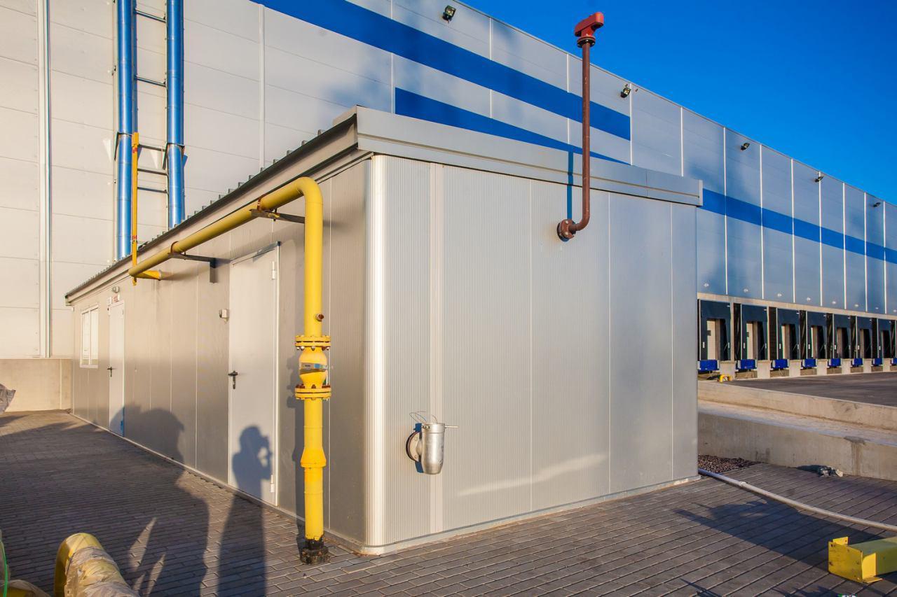 Подводящий газопровод к энергоцентру 6 МВт