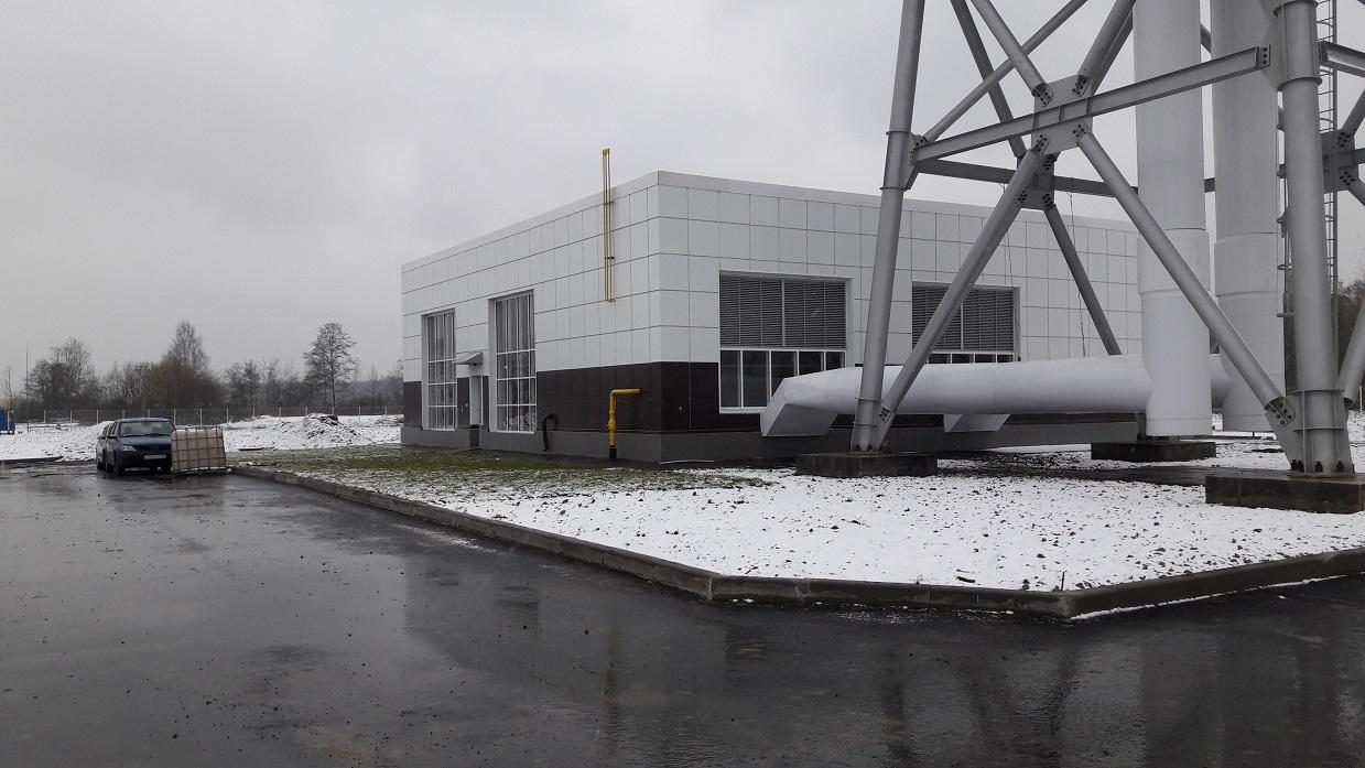 Газопровод для котельной 23,2 МВт