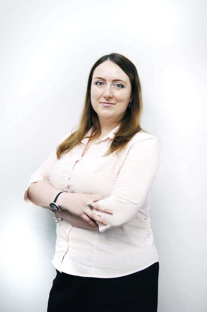 Мария Короткова, начальник группы