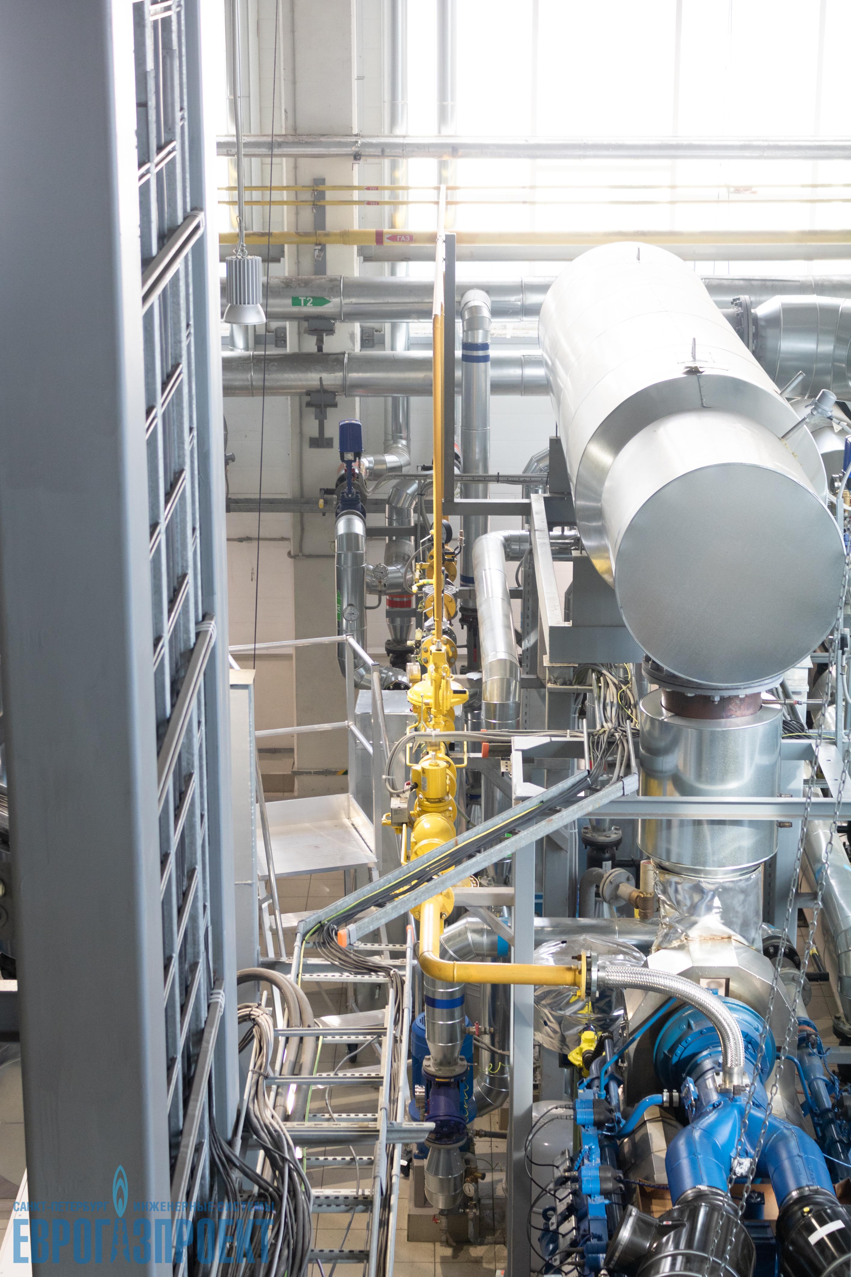 котельной и энергоблока производственного комплекса