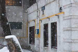 Газоснабжение здания